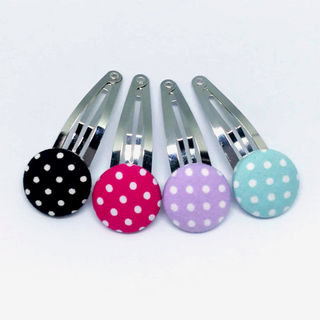 Dotty Hair Clips