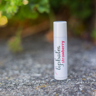 Strawberry Natural Beeswax Lip Balm