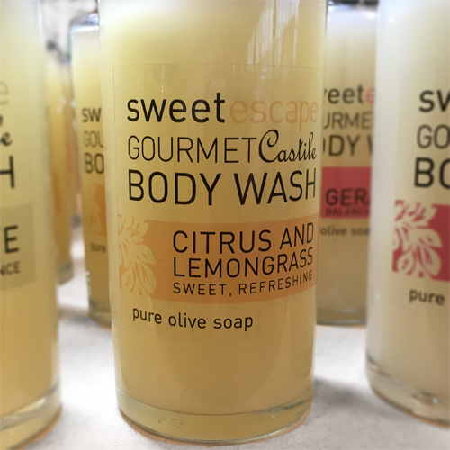 Citrus & Lemongrass Gourmet Castile Body Wash