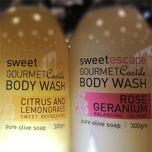 Gourmet  Olive Oil Castile Body Wash