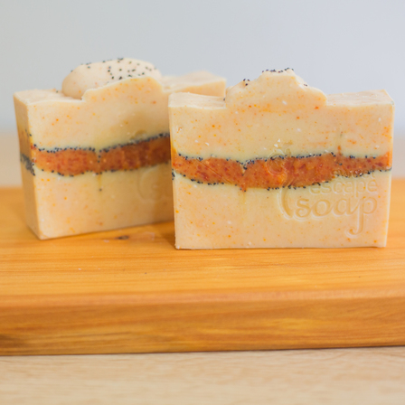 Orange & Cinnamon Castile Soap