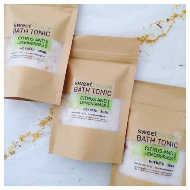 Refreshing Citrus Artisan Bath Tonic